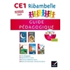 RIBAMBELLE CE1 serie rouge GUIDE PEDAGOGIQUE + CD AUDIO ED.2016