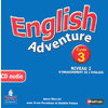 ENGLISH ADVENTURE CYCLE 3 NIVEAU 2 CD AUDIO