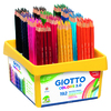 GIOTTO COLORS 3.0 CLASSPACK 192 CRAYONS DE COULEUR ASSORTIS