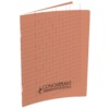 CAHIER 17X22 POLYPRO ROUGE 32P 90G SEYES 2,5MM