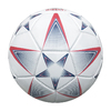BALLON FOOTBALL TRICOLORE CUIR T.5 Ø 22 CM