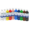 #LOT 10 FLACONS 500 ML GOUACHE BRILLO