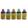 LOT 5X250ML GOUACHE PAILLETEE ASSORTIMENT 2