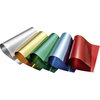 CARTON METAL ALUMINIUM 300GR 21X29,7CM -PAQUET  5 COULEURS ASSORTIES