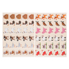 GOMMETTES 24 PLANCHES ANIMAUX DOMESTIQUES - 720 GOMM.
