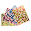 GOMMETTES 24 PLANCHES MOSAIQUES METAL - 2112 GOMM.