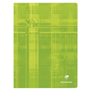 CAHIER 24X32 CLAIREFONTAINE 144P SÉYÈS 90G
